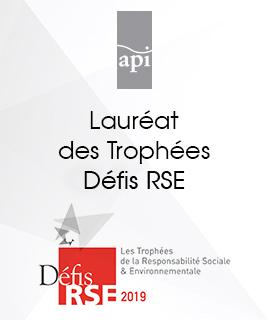 Lauréat de la 7e édition des Trophées Défis RSE