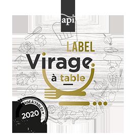Label Virage à table